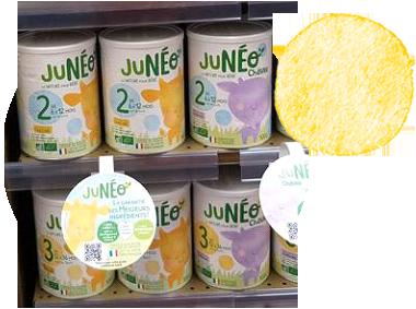 JUNÉO déjà présent dans plus de 300 magasins en France métropolitaine !