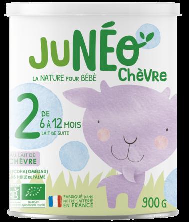 lait infantile de chèvre 2ème age