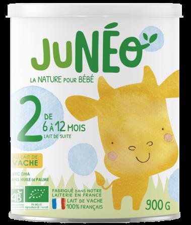 lait infantile de vache 2ème age