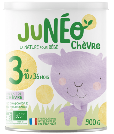 lait infantile de chèvre croissance