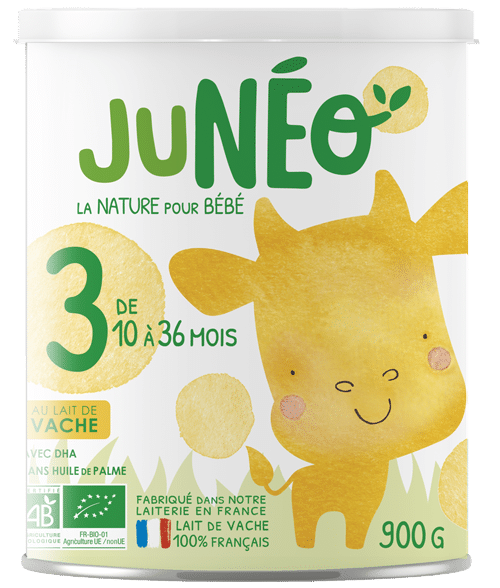 lait infantile de vache croissance