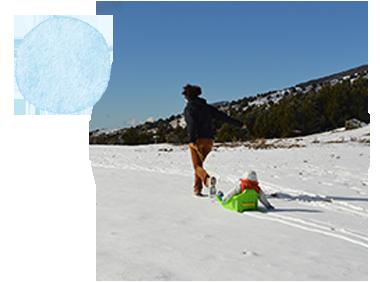 Partir à la neige avec bébé