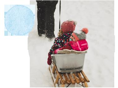 Julie raconte ses vacances à la neige